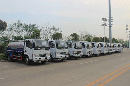 10辆洒水车发往云南